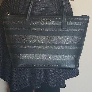 Kate Spade Hani Haven Lane Glitter Handbag